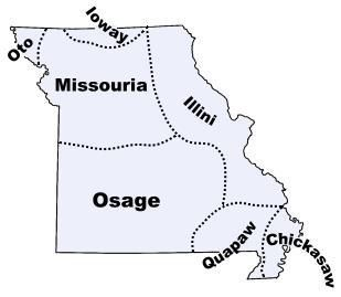 The original inhabitants of the area that is now Missouri included: The…