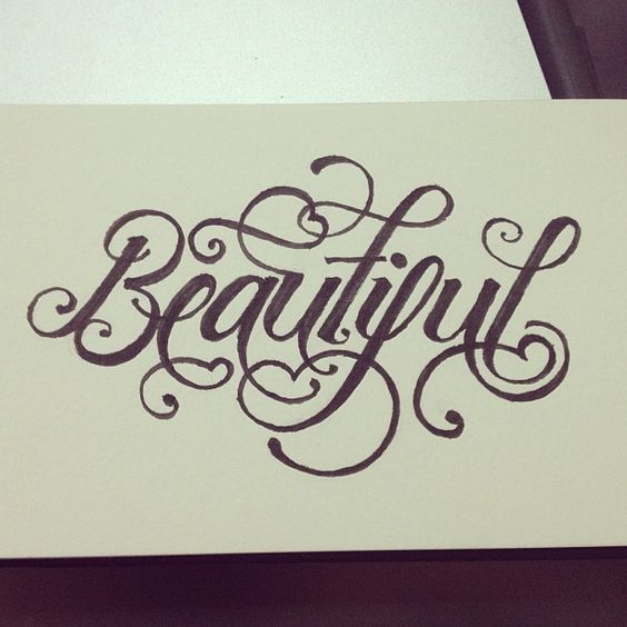 Beautiful typography and cute fonts on pinterest