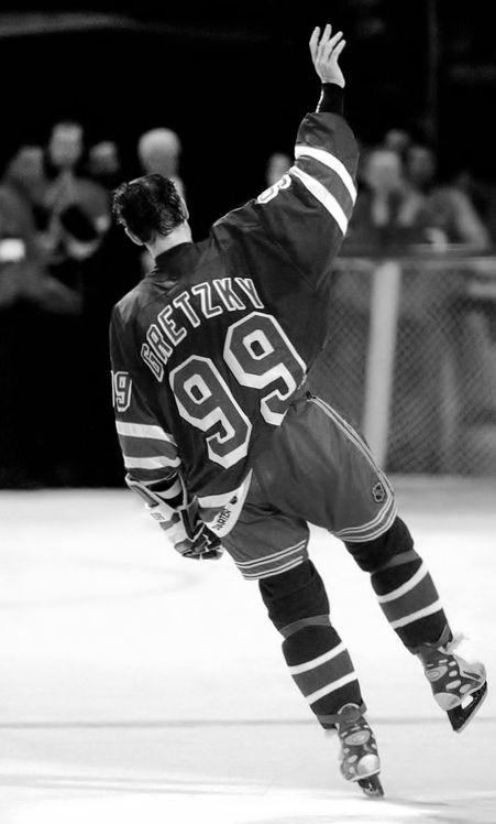 Wayne Gretzky... The greatest to ever play the game
