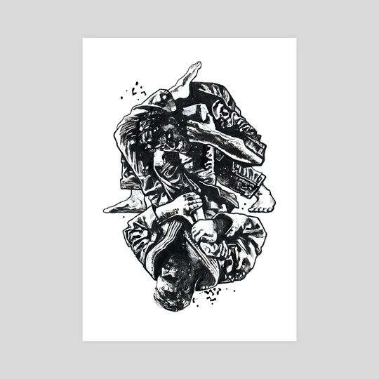 Triangle An Art Print By Gian Galang Martial Arts Styles Art Best Martial Arts