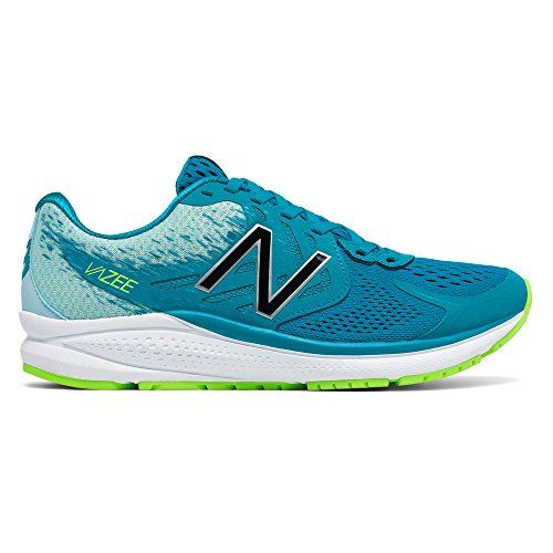 New Balance Womens Vazee Prism V2 Running Shoe Deep Ozone BlueLime Glow 8 B  US *