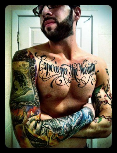 love men with tattoos --- Ditto ;)