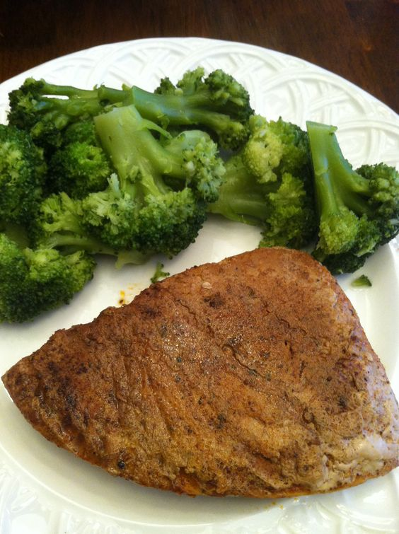 Tuna & Broccoli.