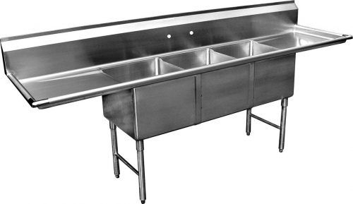 Top 10 Best 3 Compartment Sink In 2020 Reviews Thez7 Kitchen Fixtures Stainless Steel Sinks Restaurant Sink