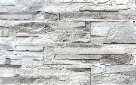 white and gray stacked stone fireplace | Stacked Stone White-Grey - 229 Stacked Stone Beige-Light Brown - 249 ...