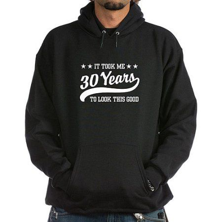 CafePress 30th Birthday Hoodie, Black