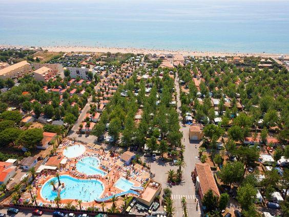 #Camping les Méditerranées Beach Club Nouvelle Floride à #Marseillan-Plage dans l'#Hérault