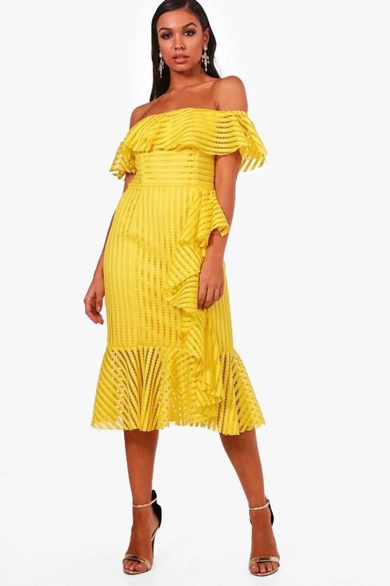FashionDRA   Top 07 bonne raisons d'oser la robe jaune