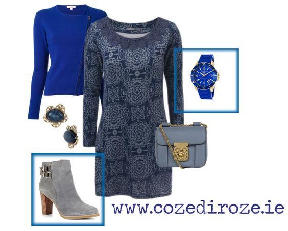 Natalie Dress: http://cozediroze.ie/index.php/product/lace-neck-tunic-dress/