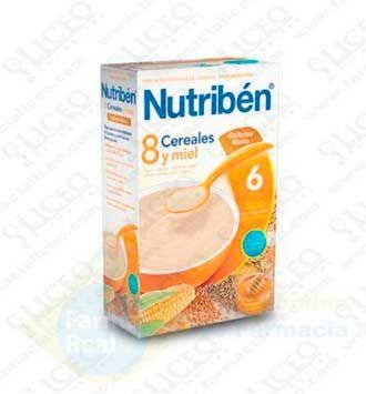 NUTRIBEN 8 CEREALES Y MIEL GALLETAS MARIA 600 GR