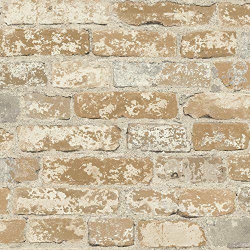 Peel Stick Interior Film Brick Pattern Contact Paper Ec4246 1 1 64 Feet X 8 20 Feet Brick Wallpaper Faux Brick Wallpaper Rustic Wallpaper