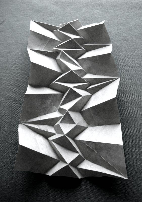 textural paper folding by paper artist Andrea Russo http://www.flickr.com/photos/9874847@N03/collections/ #pleats #paper_art: