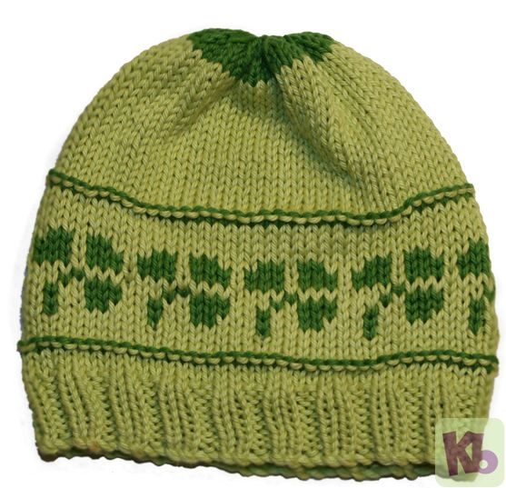 Shamrock Beanie Free Knitting Loom Patterns Pinterest Knit hats, Blog a...