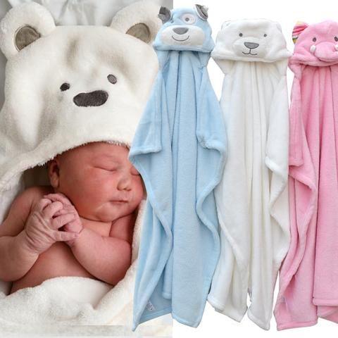 Baby S In Bloom Animal Baby Bath Towel Multi Purpose Baby Bath Towel Towels Kids Baby Hooded Bath Towel