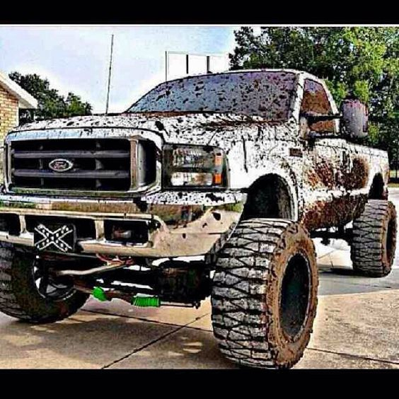 Looks like so much fun!!!! :) built Ford tough baby!!