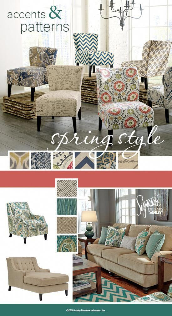 Spring Accents Patterns Spring Style Furniture And