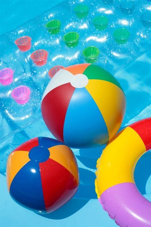 pool toys!