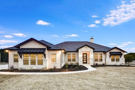 Plan 51795hz One Story Living 4 Bed Texas Style Ranch Home Plan Home Styles Exterior Ranch House Plans Country House Plans