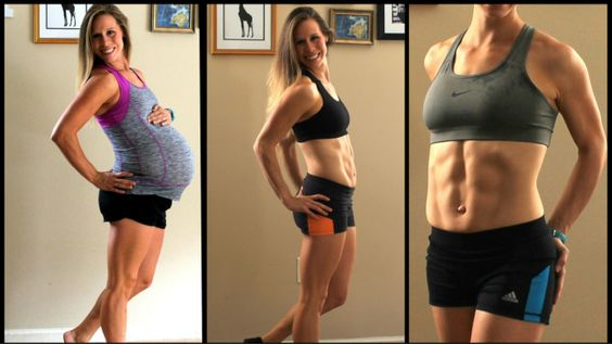 12 Week Post Pregnancy Progress