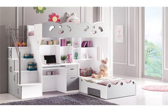 d coration chambre enfant double recherche google lits. Black Bedroom Furniture Sets. Home Design Ideas