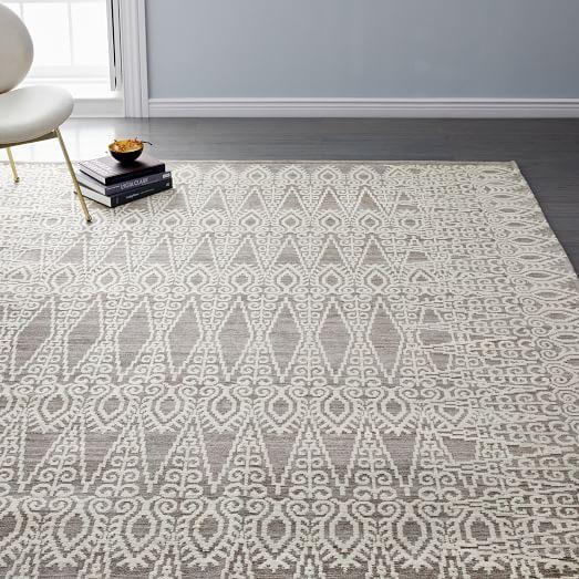 stone tile rug west elm tile rug