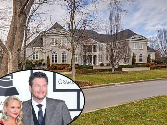 Miranda Lambert House in Oklahoma   Blake Shelton and Miranda Lambert's House