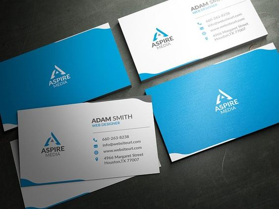 Modern Business Card Template Modern, Business card templates - business envelope template