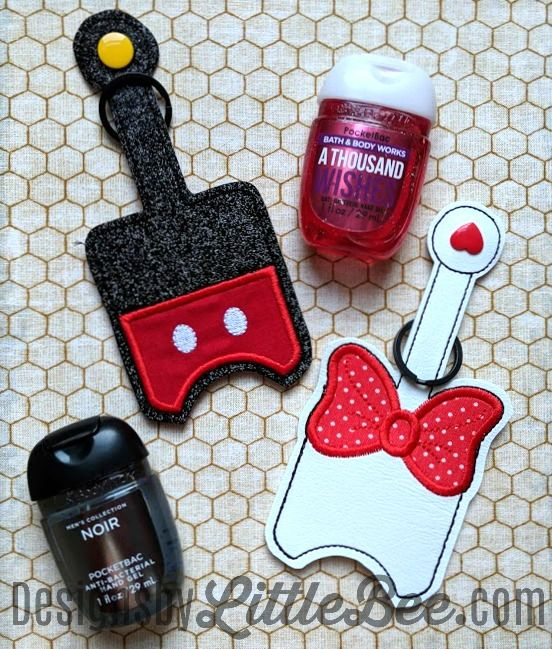 Key Fobs Snap Tabs Designs By Little Bee Hand Sanitizer