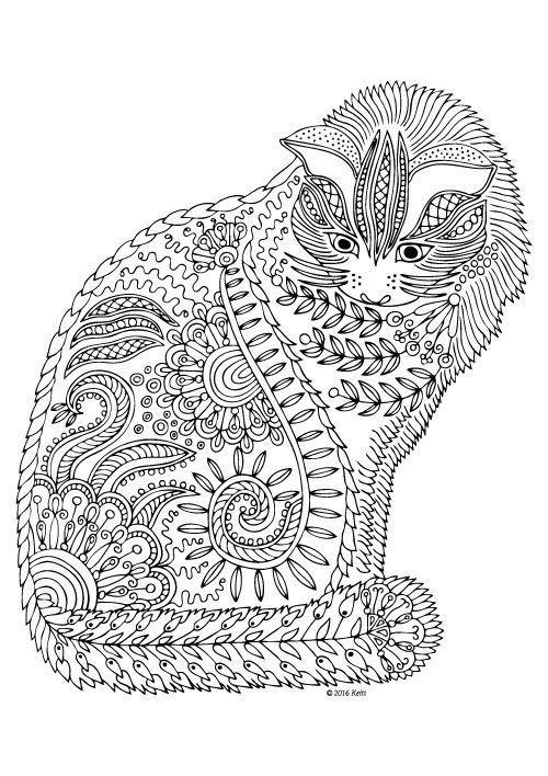 Gato Mandala Buscar Con Google Con Imagenes Mandalas