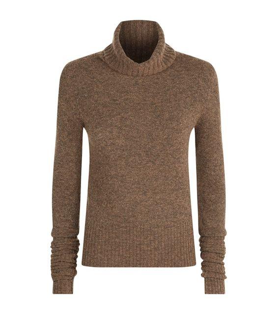 Shoptagr   Alpha Roll Neck Jumper by All Saints #style #fashion #trend #design #onlineshop #shoptagr