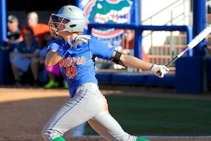 Taylor Schwarz hit her sixth home run of the season Wednesday at UCF.