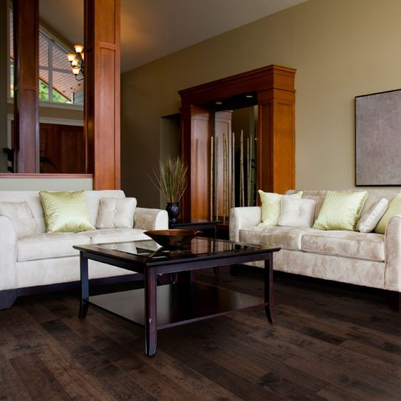 Black forest birches and forests on pinterest for Mahogany living room ideas
