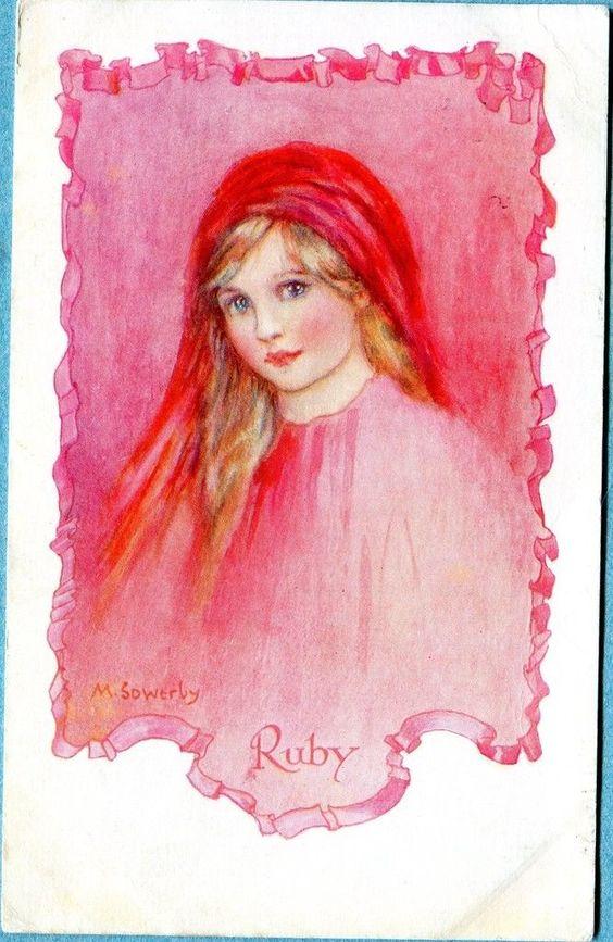 Millicent Sowerby postcard, 1925 | eBay