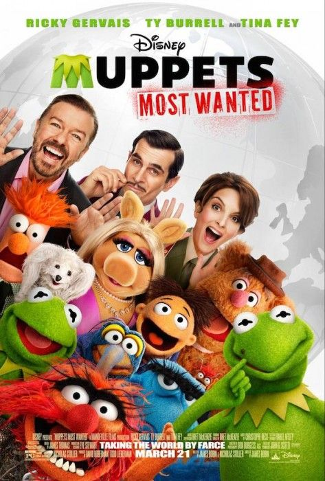 """Read our Review of The Muppets: Most Wanted - We Say """"Definitely!"""" #Muppets #MovieReview  http://www.redcarpetreporttv.com/2014/03/17/review-of-the-muppets-most-wanted-we-say-definitely-muppets/"""