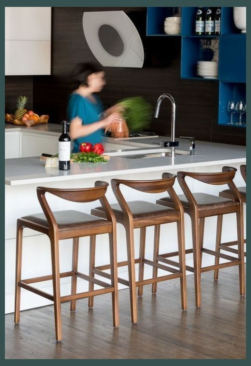 Jazz Up Your Kitchen With Trendy Kitchen Bar Stools Kitchen Decor Tips In 2020 Modern Counter Stools Modern Bar Stools Stools For Kitchen Island