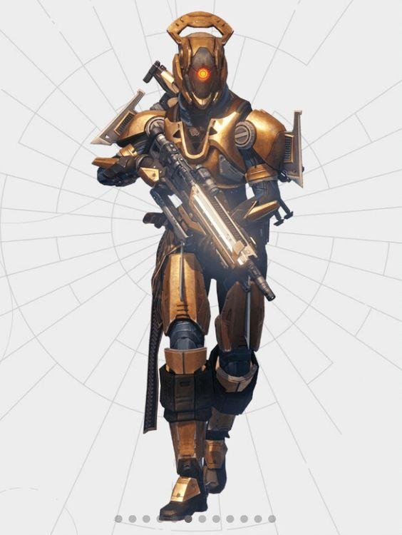 Customizable Titan Armor, Destiny