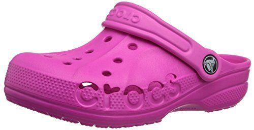 crocs Baya, Unisex-Kinder Clogs, Pink (Neon Magenta 6L0), 29-31 EU (C12-13 Unisex-Kinder UK) - http://on-line-kaufen.de/crocs/29-31-eu-crocs-baya-10190-unisex-kinder-clogs-6