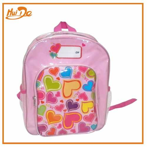 pvc heart school bag - chinabagone.com