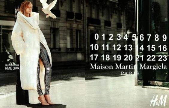 Maison Maison Margiela et H : Les premières images de la campagne  I haven't been following the work...the commercial photography is good...the other work was controversial.
