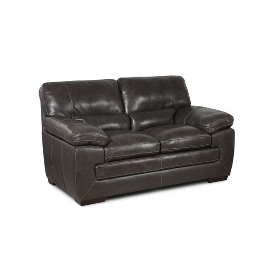 Good Maxine Leather Loveseat | Weekends Only Furniture And Mattress