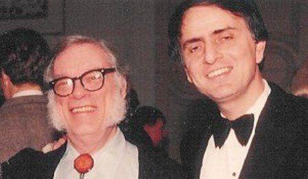 La admiración de Isaac Asimov por Carl Sagan - NeoTeo