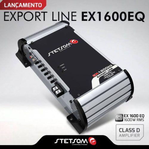 modulo amplificador stetsom ex 1600 eq 1600w rms 1 canal 33