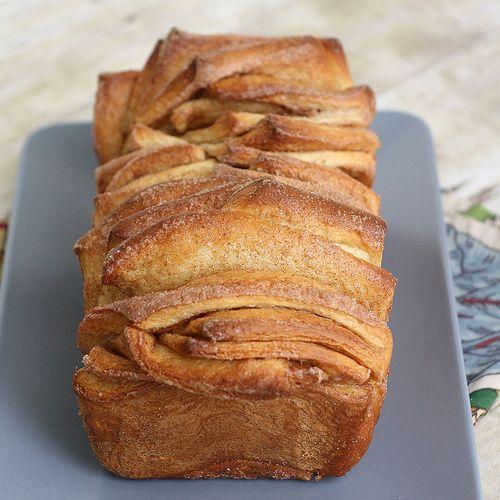 Cinnamon Sugar Pullapart bread. Very easy and very good!