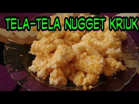 Nugget Tela Krispi Cara Membuat Singkong Nugget Youtube Food Kids Snacks Snacks