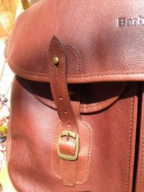 Barbour® Leather Tarras Bag