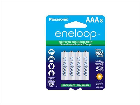 8-Pk Panasonic Eneloop AAA Ni-MH Pre-Charged Rechargeable Batteries BK-4MCCA8BA $15@NeweggFlash #LavaHot http://www.lavahotdeals.com/us/cheap/8-pk-panasonic-eneloop-aaa-ni-mh-pre/55006