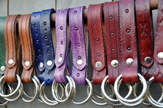 Leather Skirt Hikes/ Skirt Chasers / Skirt Bustler for LARP/Ren Fair/Halloween/Pirate Garb/ Steampunk Gear