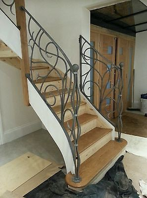 Best Details About Wrought Iron Railing Balustrade Hand Forged 400 x 300