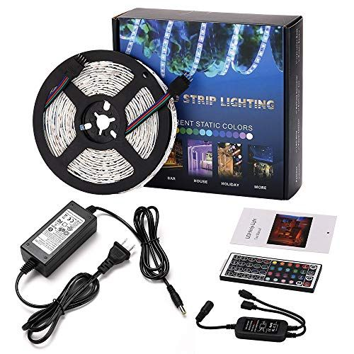 Led Rope Light Wifi Controller Waterproof Rgb Color Changing 16 4
