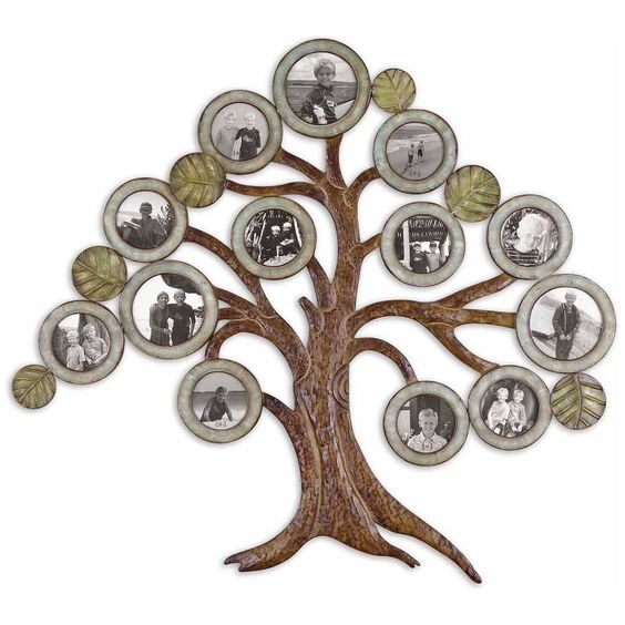Uttermost Maple Tree Hanging Photo Collage 13725